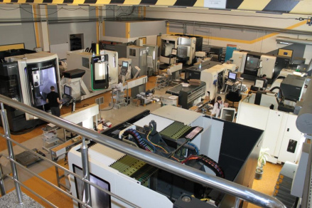 Экспериментальный цех (участок металлорежущих станков с ЧПУ)